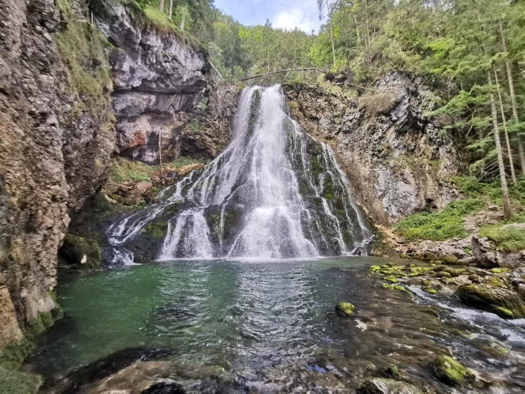 Die Gollinger Wasserfall Öffnungszeiten