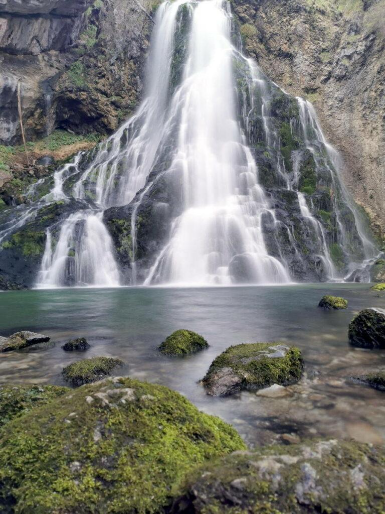 Gollinger Wasserfall Winter - wie sind da die Öffnungszeiten?